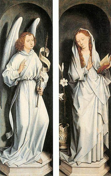 Hans Memling The Annunciation china oil painting image