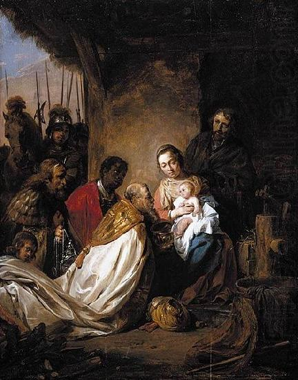Jan de Bray The Adoration of the Magi china oil painting image