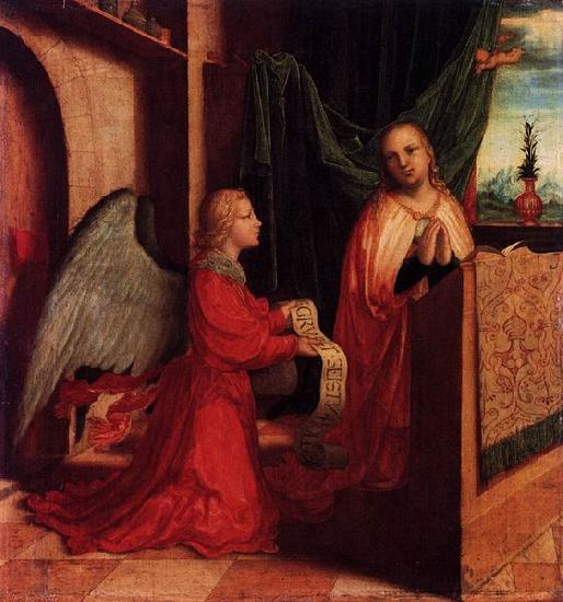 Master of Ab Monogram The Annunciation china oil painting image