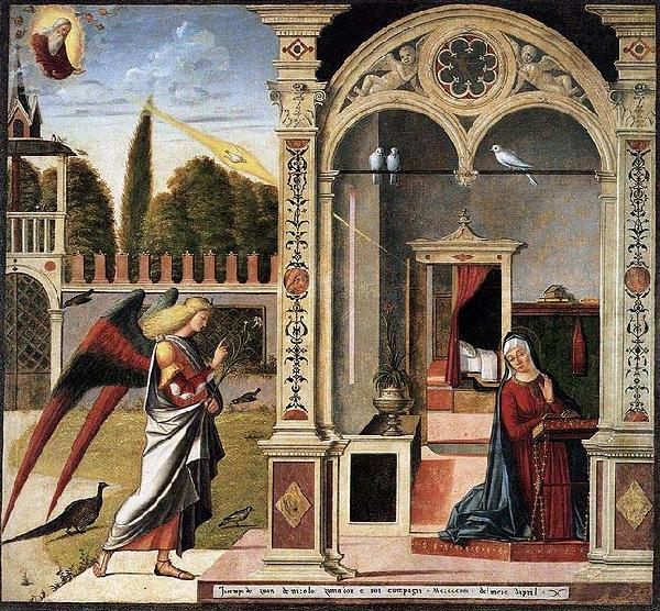 Vittore Carpaccio The Annunciation china oil painting image