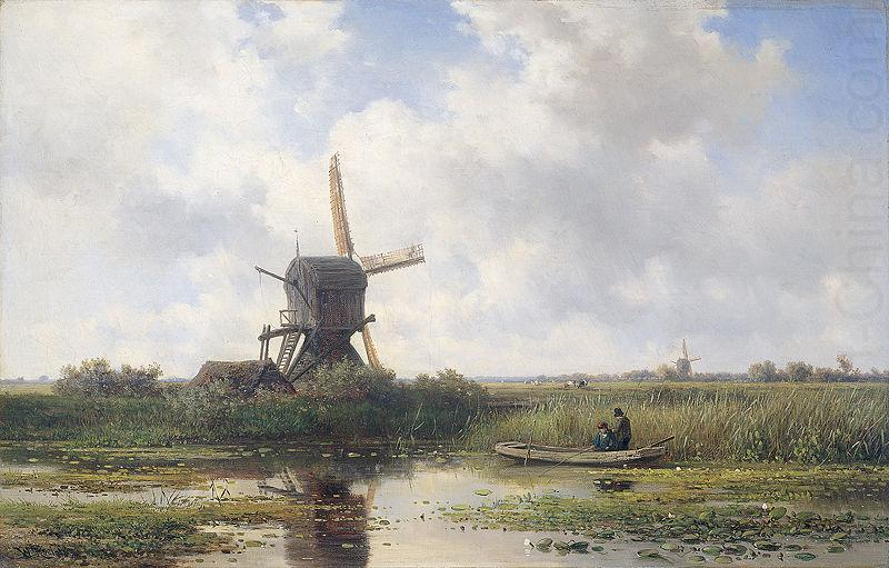 Willem Roelofs In t Gein bij Abcoude china oil painting image