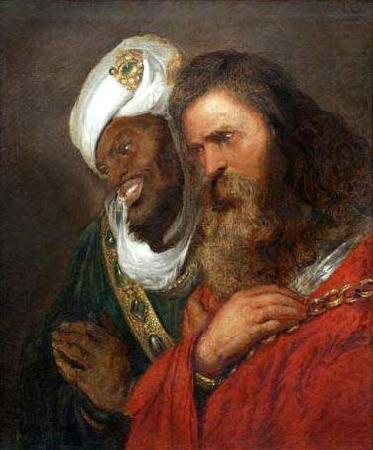 Jan lievens Saladin and Guy de Lusignan china oil painting image