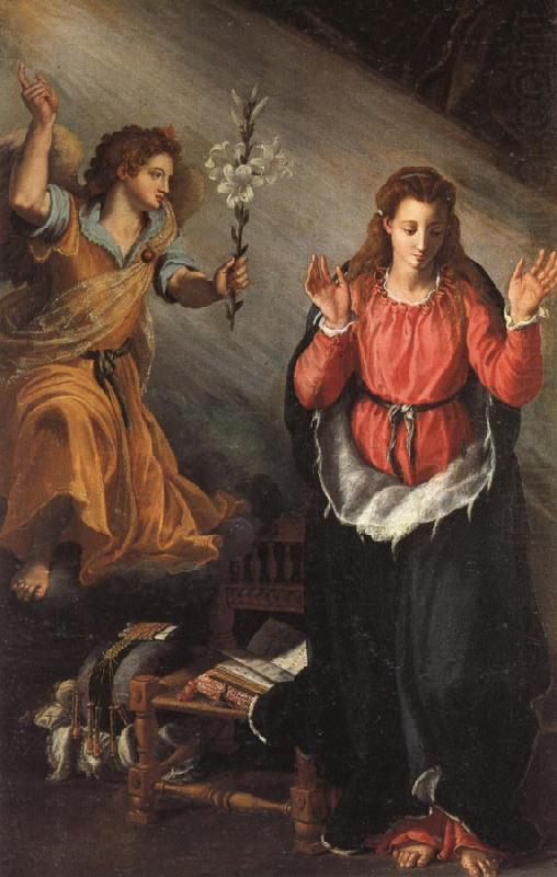 ALLORI Alessandro The Annunciation china oil painting image