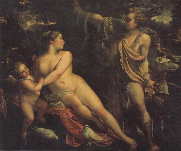 Annibale Carracci Venus and Adonis china oil painting image
