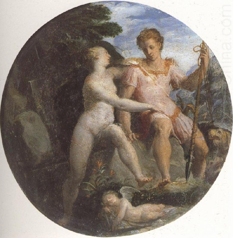 Girolamo Macchietti Venus and Adonis china oil painting image