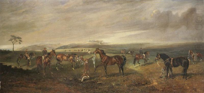 James Lynwood Palmer Riding Out on the Kingsclere Gallops china oil painting image