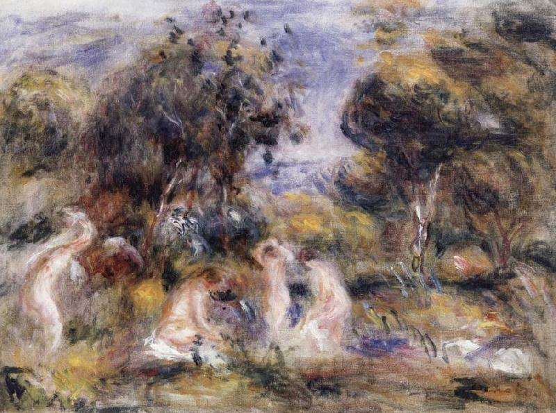 Pierre Renoir The Bathers china oil painting image