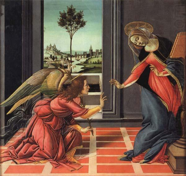 Sandro Botticelli The Annunciation china oil painting image