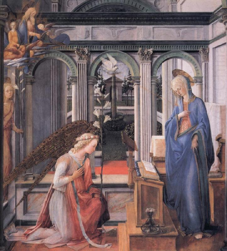 Fra Filippo Lippi The Annunciation china oil painting image