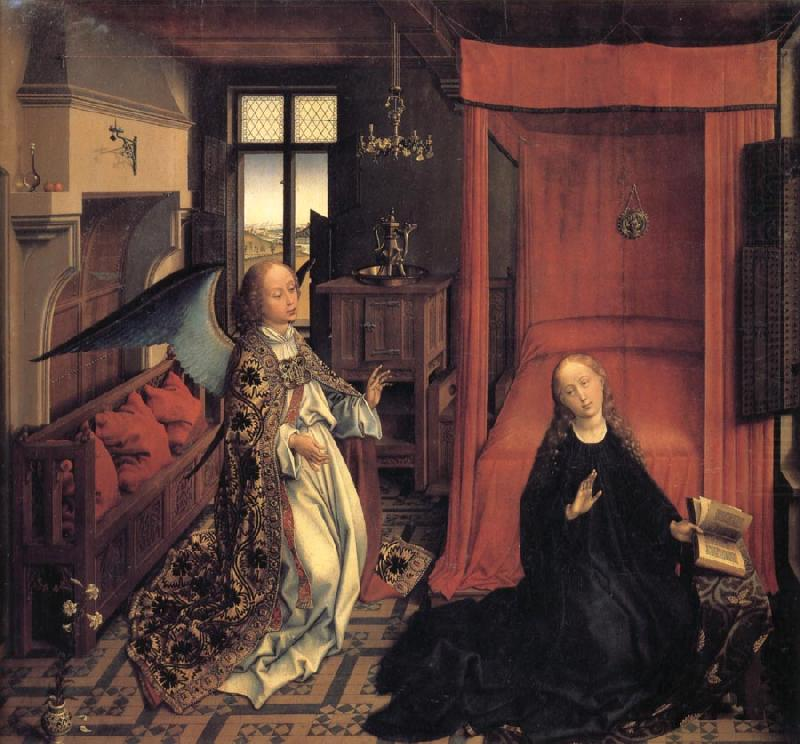 Roger Van Der Weyden The Annunciation china oil painting image