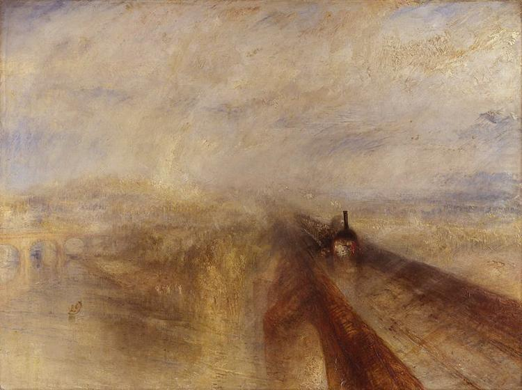 Joseph Mallord William Turner Rain,Steam and Speed,The Great Western Railway (mk10) china oil painting image