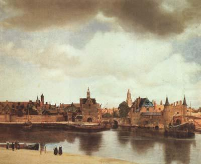 Jan Vermeer View of Delft (mk08) china oil painting image