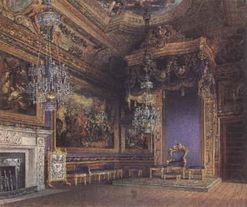 Charles Wild The King's Audience Chamber (mk25) china oil painting image