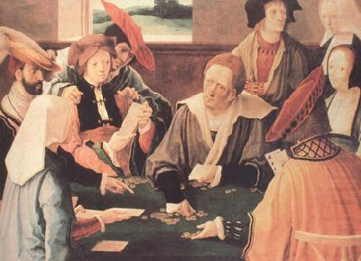 Lucas van Leyden The Card Players (nn03) china oil painting image