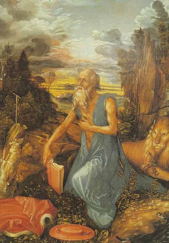 St.Jerome in the Wilderness, Albrecht Durer