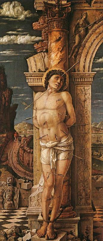 St.Sebastian Andrea Mantegna Wholesale Oil Painting China ...