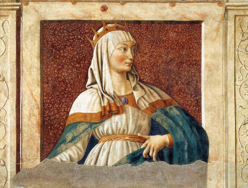Andrea Del Castagno Dante Portrait Esther Andrea Del Castagno