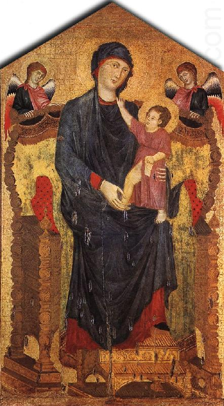 cimabue madonna enthroned with angels. Madonna Enthroned with the Child and Two Angels dfg, Cimabue
