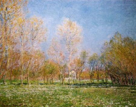 Claude Monet Springtime at Giverny