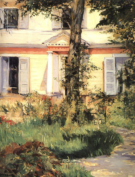 The House at Rueil, Edouard Manet