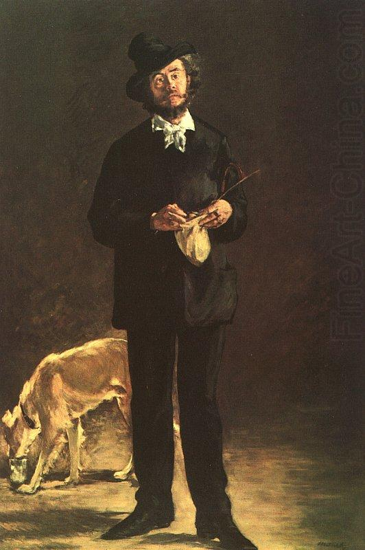 Edouard Manet Portrait of Gilbert Marcellin Desboutin