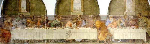 The Last Supper dh, FRANCIABIGIO