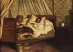 The Improvised Field-Hospital, Frederic Bazille