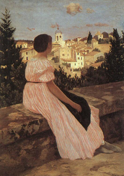 The Pink Dress, Frederic Bazille