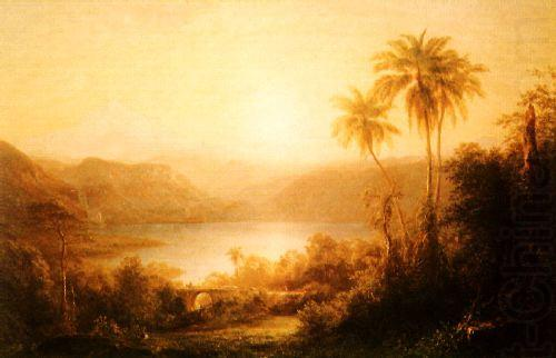 Sierra nevada de santa marta frederick edwin church for Frederick church paintings