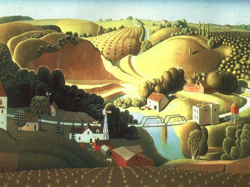 Stone City, Iowa, Grant Wood