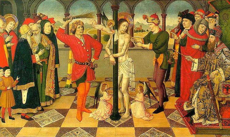 Flagellation Of Christ Hugo Van Der Goes Wholesale Oil