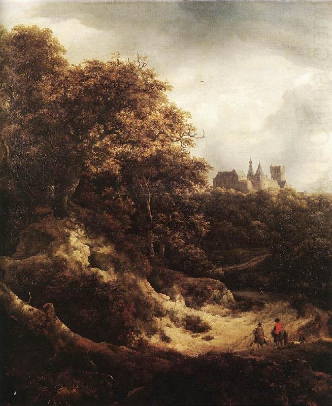 Jacob van Ruisdael The Castle at Bentheim