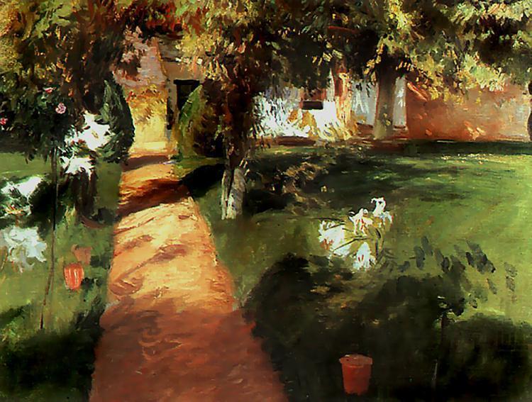 Garden, Jean-Franc Millet