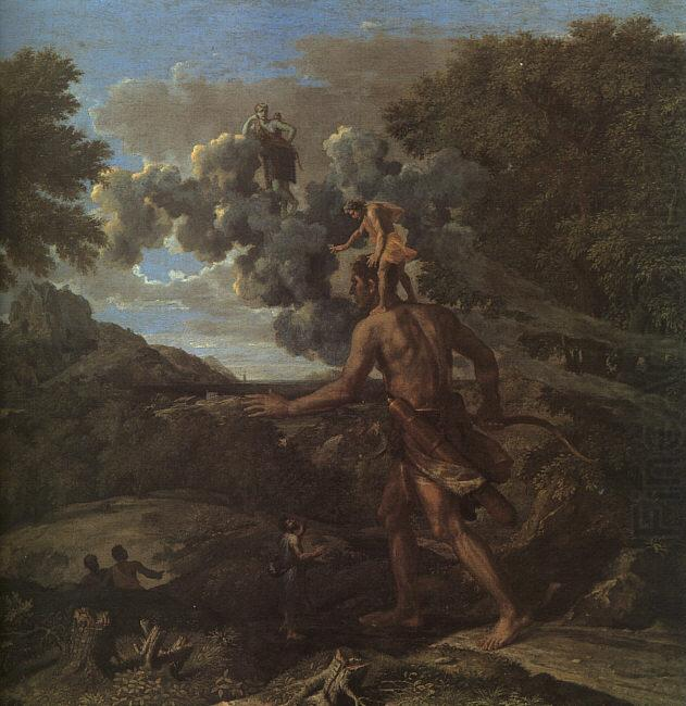 Nicolas Poussin Blind Orion Searching for the Rising Sun