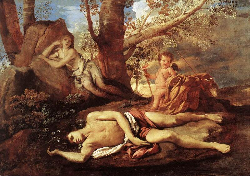 E-cho and Narcissus, Nicolas Poussin
