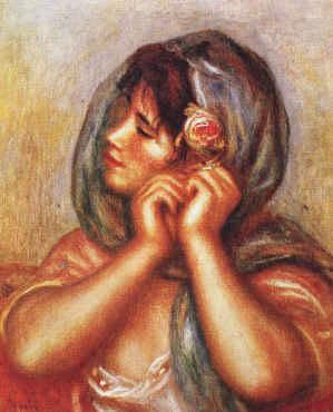 Gabrielle with Rose, Pierre Renoir