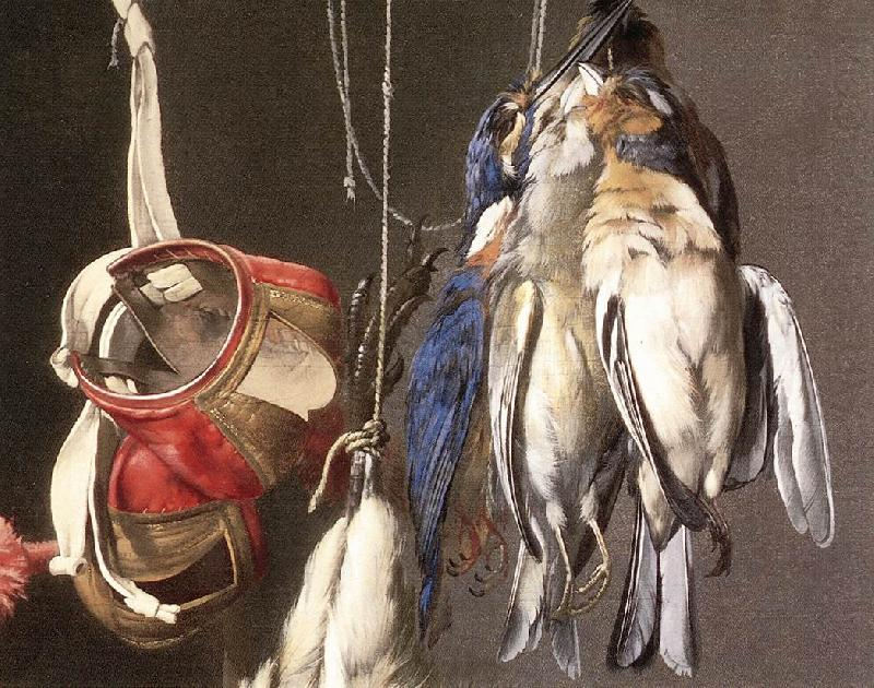 Hunting Still-Life (detail), Willem van