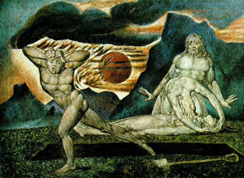 The Body of Abel Found by Adam and Eve, William Blake
