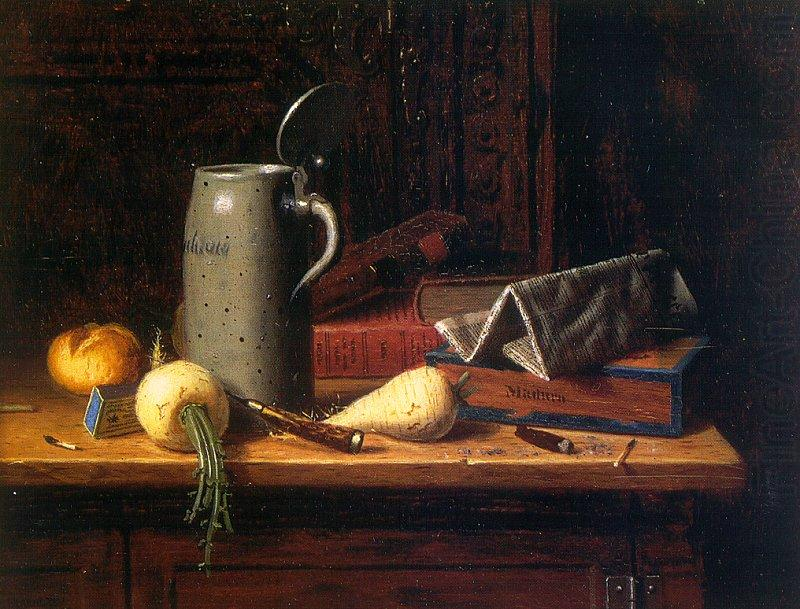 Still Life with Turnips, William Michael Harnett