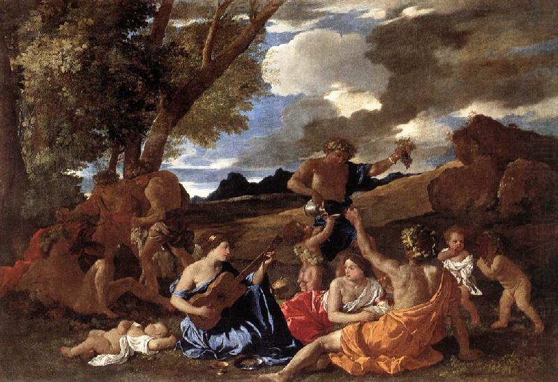 Bacchanal: the Andrians af, POUSSIN, Nicolas
