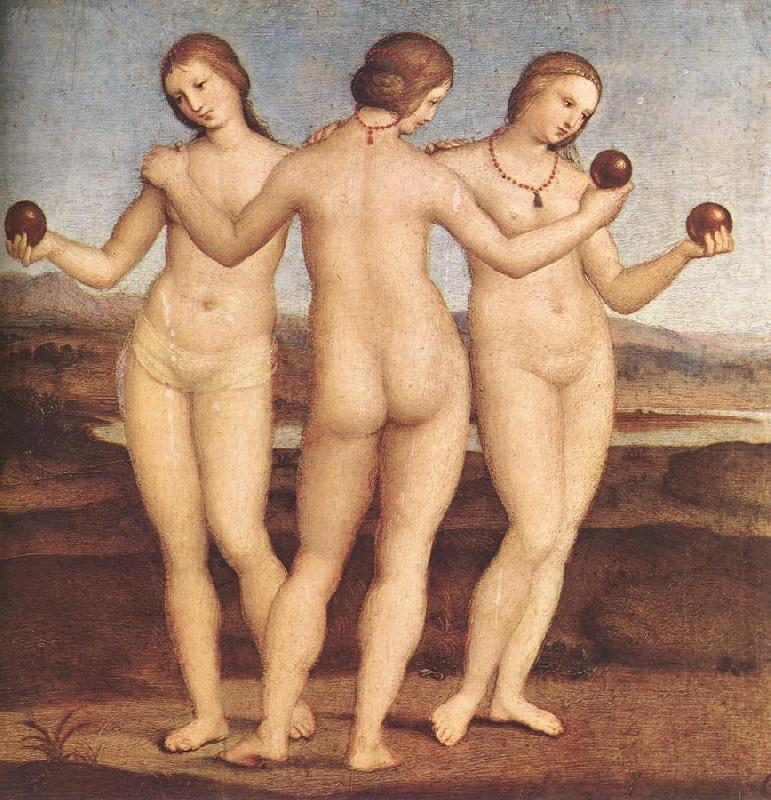 RAFFAELLO Sanzio The Three Graces F