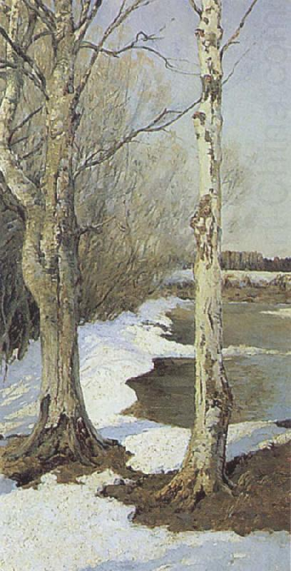 Early Spring, Ilya Ostroukhov