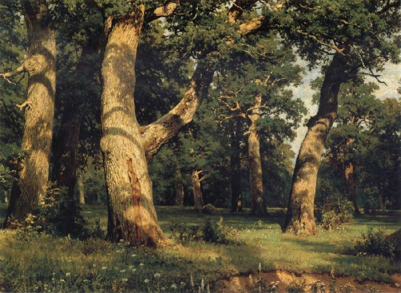 Oak of the Forest, Ivan Shishkin