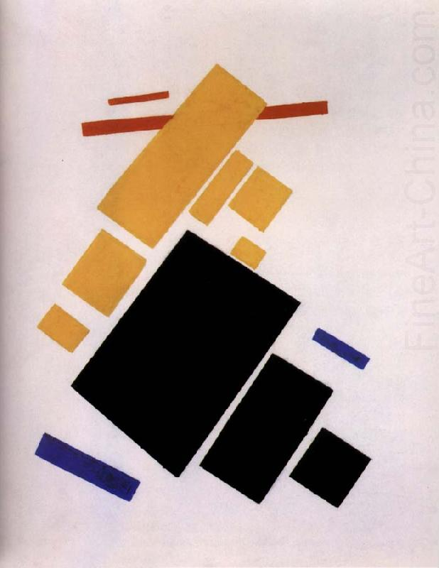 The Plane is flight, Kasimir Malevich
