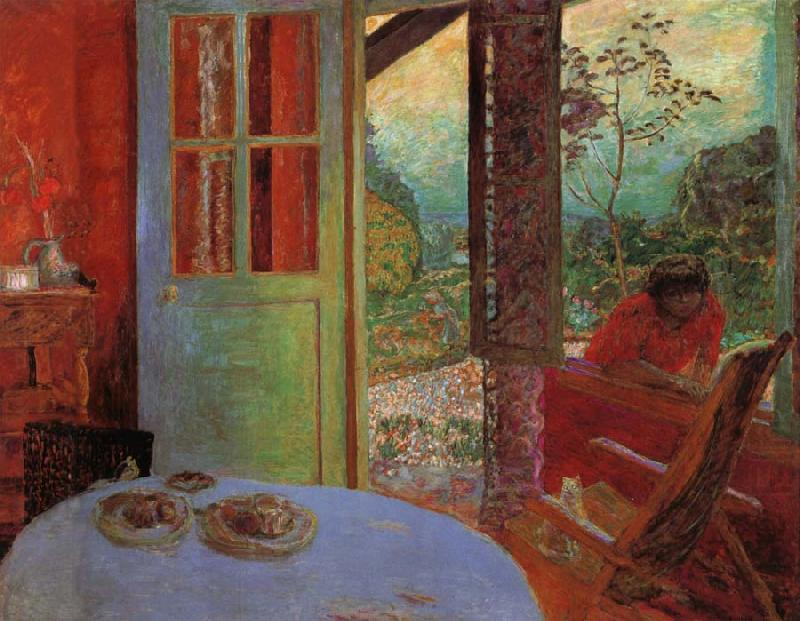 Dining room in the couniry pierre bonnard wholesale oil for Art painting for dining room