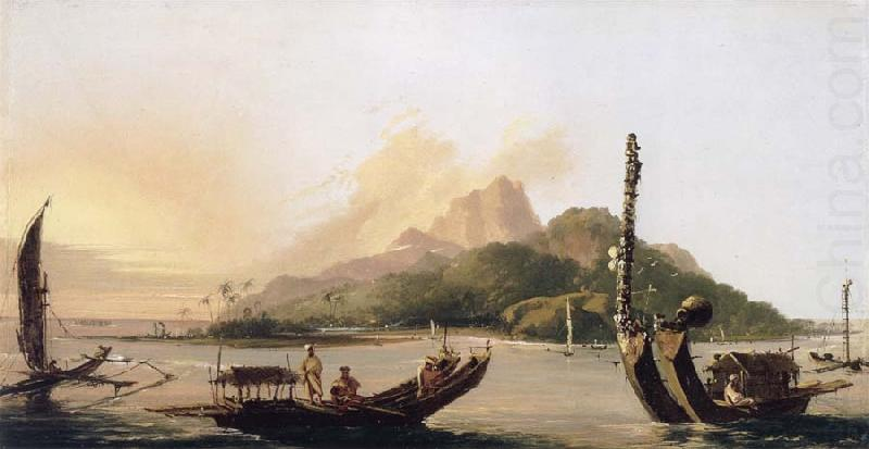 Tahiti,bearing South East, unknow artist