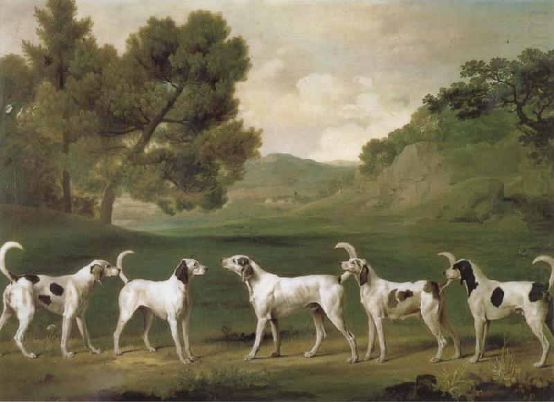 Some Dogs, George Stubbs