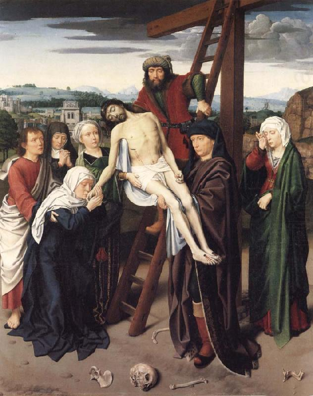 Gerard David The Deposition