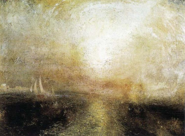 Yacht Approaching the Coast, J.M.W. Turner