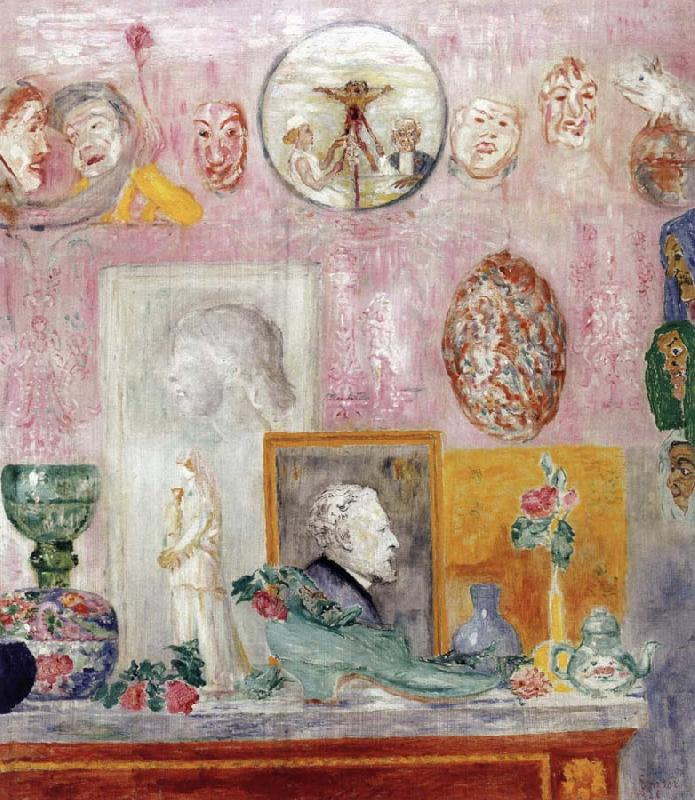 Souvenirs, James Ensor